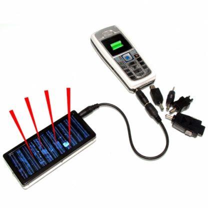 Carregador Solar para Telemovel