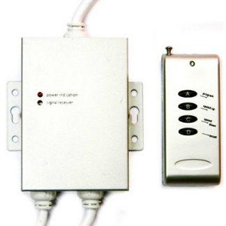 Controlador para Fita de LEDs RGB com Comando e DMX