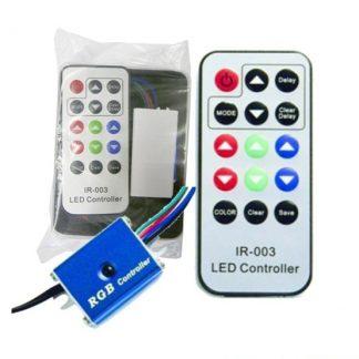 Controlador para Fitas de LEDs RGB com Comando IR RGB