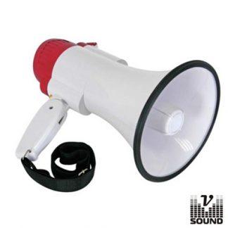 Megafone 10W c/ Gravação de Voz