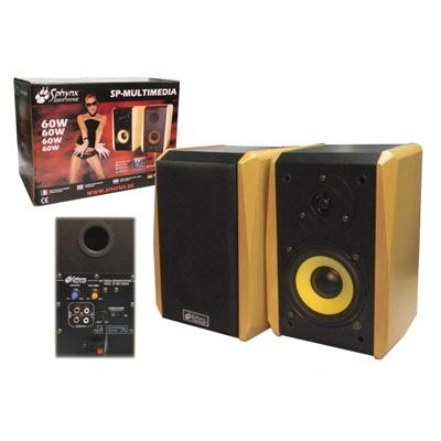 Colunas Acústicas Amplificadas 60W Sph (Par)