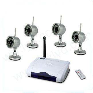 Kit 4 Câmaras CCTV Infravermelho Sem Fios 2