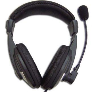 Auscultadores com microfone Digicomm 750