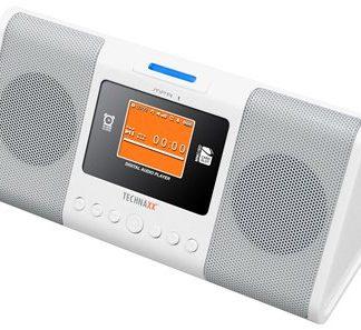 Rádio-Despertador Digital / Leitor MP3 e Fotos
