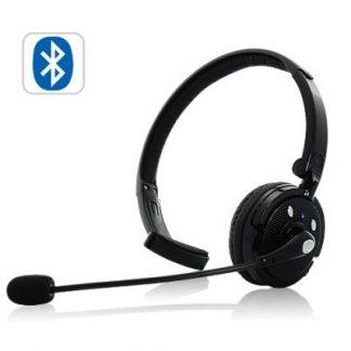 Auscultadores Bluetooth com Microfone e dupla conexão