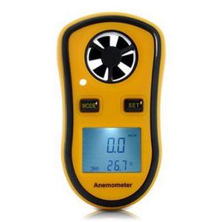 Anemómetro digital com termómetro