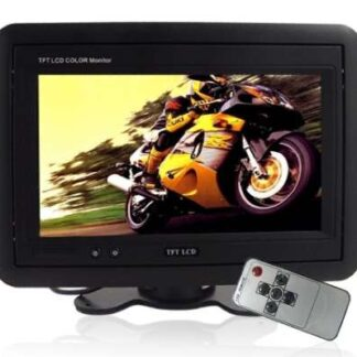 "Monitor LCD TFT 7"" com suporte"