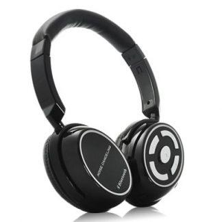 Auscultadores Hi-Fi Stereo Bluetooth com Microfone e dupla conexão