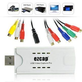 Dispositivo USB de captura de vídeo componente / composto / S-Video
