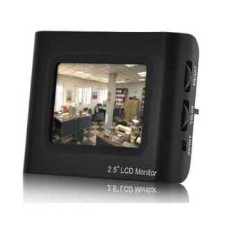 "Monitor LCD TFT 2.5"" (Kit de Teste de CCTV)"