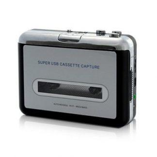 Conversor Cassete-MP3 e Leitor Cassete / USB