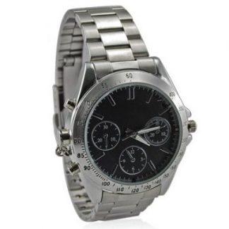 Relógio de Metal c/ Câmara - 8 Gb memória