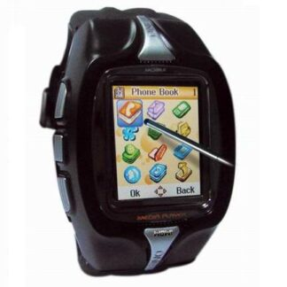 Relógio Telemóvel c/ Ecrã Táctil e Bluetooth