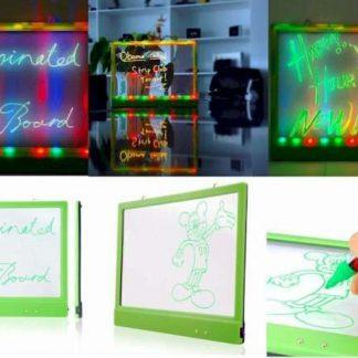 Painel de Mensagens Iluminado a LED