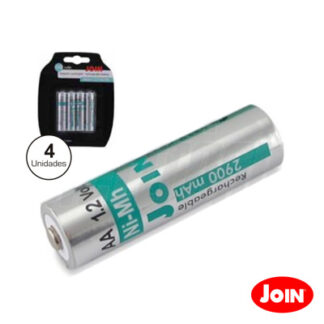 Pilha/Bateria NI-MH AA 1.2V 2900MA  Join 4 x Blister