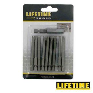 Conjunto de 10 Bits 70mm Life