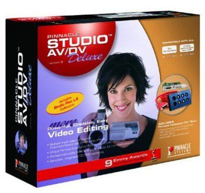 Sistema de Captura e Edição de Video Pinnacle Studio AV/DV Deluxe Versão 9