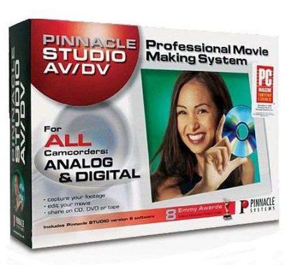 Sistema de Captura e Edição de Video Pinnacle Studio DV Plus Versão 8
