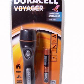 Lanterna 3 LEDS c/ Pilhas Duracell