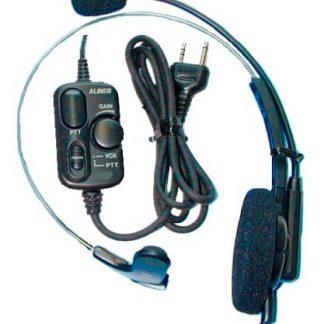 Auscultador c/ Microfone c/ VOX/PTT Alinco