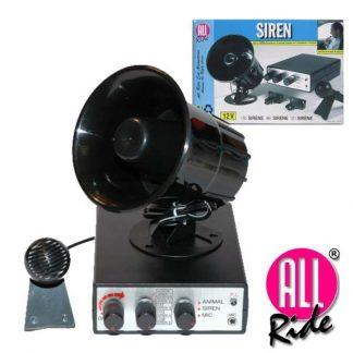 Sirene 12V 5 Alarmes c/ MIicrofone 125db All