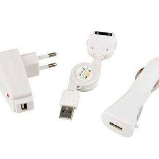 Kit de Carregador AC DC USB para iPod / iPhone
