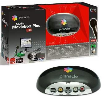 Sistema de Captura e Edição de Vídeo Pinnacle Studio MovieBox Plus USB