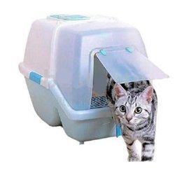 WC para Gatos c/ Depósito de Areia