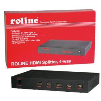 Distribuidor de Video HDMI 4 vias