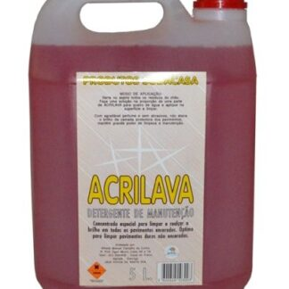 Acrilava - Detergente de Manutenção Garrafão 5 L