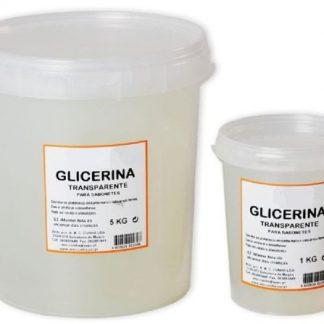 Glicerina Sólida Transparente Balde 5 Kg