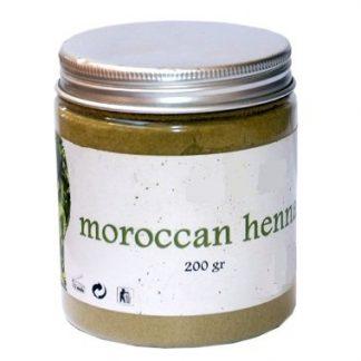 Hena Natural em pó - Frasco 200 g