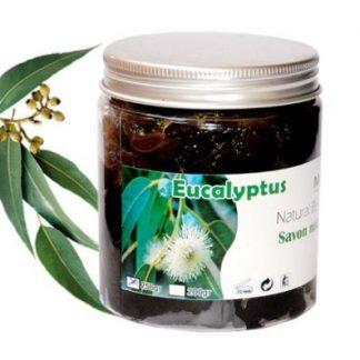 Sabão Negro Natural com Eucalipto - Frasco 250 g