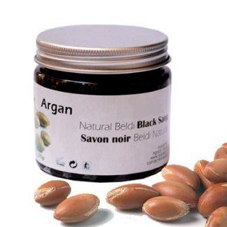 Sabão Negro Beldi Natural c/ Óleo de Argão - Frasco 250 g