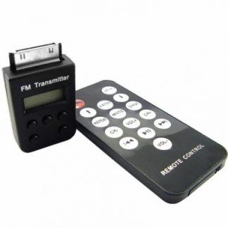 Transmissor Modulador Fm Sem Fio p/ iPod / iPhone + Controlo Remoto