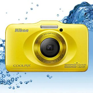 Câmara Digital Nikon Coolpix S31 Yellow à prova de água
