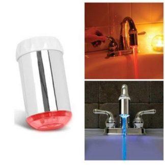 Luz LED RGB para torneira