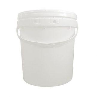 Balde Plástico 20L c/ tampa hermética