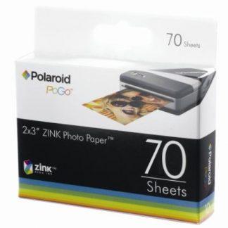 Papel Fotográfico ZINK™ para Impressora Polaroid PoGo™ 70 un.