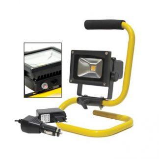 Foco LED 10W 230V Recarregável IP65