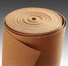 Cortiça em Rolo Grão Fino 80m2 Folha de Cortiça Grão Fino em Rolo Espessura 3 mm