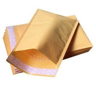 Pack 10 envelopes de bolhas 100 x 165 mm